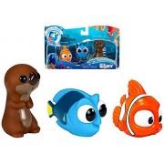 Finding Dory Bath Squirters Dory Nemo & Sea Otter 2.5 inch