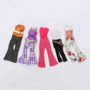 Supply 5 Sets Casual Barbie Kleding