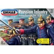 Emhar Models Prussian Infantry Franco Prussian War 1870-71 Model Building Kit