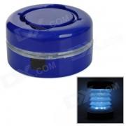 JG-801 conveniente lampara de tienda LED de 2 modos al aire libre para acampar - azul (3 x AAA)