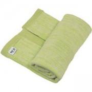 Бебешко плетено одеяло Joy line, toTs, зелено, 011249