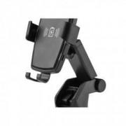 Incarcator auto wireless Qi Edman K81 incarcare rapida negru + Casti telefon Cadou