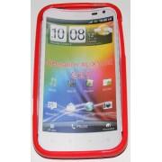 Силиконов гръб ТПУ за HTC Sensation XL G21 Червен