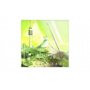 """Höffner Glasbild """"München"""" ¦ grün ¦ Maße (cm): B: 20 H: 20"""