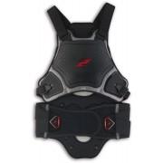Zandona Shark Armour GT Protetor de volta / protetor de peito Preto XS