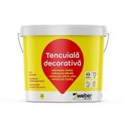 Tencuiala decorativa acrilica - Weber.Pas Classic 25 KG