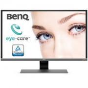 Монитор BenQ EW3270U, 31.5 Wide VA LED, 4ms, 3000:1, 20M:1 DCR, 300 cd/m2, 3840x2160 UHD, HDMI, DP, USB Type-C, Speakers, Сив, 9H.LGVLA.TSE