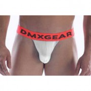 DMXGEAR Anatomic Fit Luxury Cotton Sport Brief Underwear White