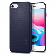 Carcasa Spigen Liquid Air Armor iPhone 7/8 Midnight Blue