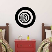 Sticker decorativ de perete Sticky, 260CKY1028, Negru