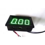 Ampermeter Zelený 0-10A