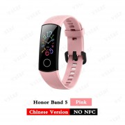 Huawei Honor banda 5 smartband AMOLED Huawei smartwatch de oxígeno en la sangre corazón ira ftness