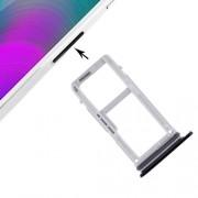 iPartsBuy for Samsung Galaxy A3 (2017) / A320 SIM Card Tray + Micro SD Card Tray(Black)