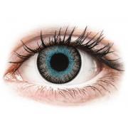 Maxvue Vision Lentes de Contacto Fusion Azul Acinzentado com correção - ColourVUE