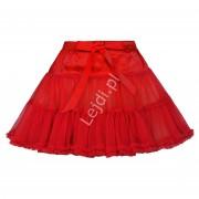 Lejdi Czerwona halka dziecięca, spódnica tutu skirt czerwone spódniczki, halka dla dziewczynki