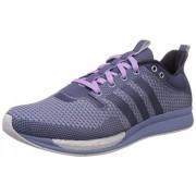 adidas Women's Adizero Feather W Purple and Blue Mesh Running Shoes - 5 UK