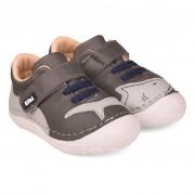 Pantofi Baieti Bibi Grow Gri-Rechin