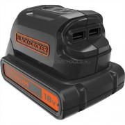 Black&Decker BDCU15AN-XJ 18V Li-Ion USB töltő