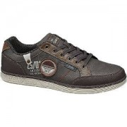 Venture by Camp David Grijze sneaker vetersluiting