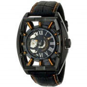 Stuhrling Original Mens 279335557 Xtreme Millennia Expo Analog Display Automatic Self Wind Black Watch