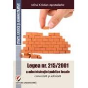 Legea nr. 215/2001 a administratiei publice locale comentata si adnotata