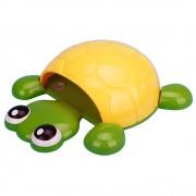 Držiak na zubné kefky korytnačka ŽLTÁ