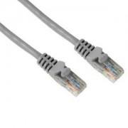 Мрежов пач кабел cat.5e 10m UTP сив - HAMA-46745
