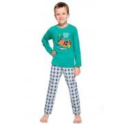 Pijama pentru băieți Leo verde 134