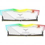 DDR4, KIT 16GB, 2x8GB, 3000MHz, Team Group Elite Delta RGB White, 1.35V, CL16 (TF4D416G3000HC16CDC01)