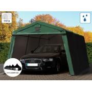 3.3x4.8m garázssátor mobilgarázs 500g/m2 PVC ponyva (Premium)