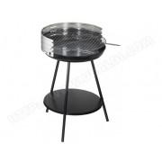ALPERK Barbecue à charbon rond en inox New clasic Surface cuisson 50cm