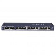 Switch ProSafe GS116GE, 16 x LAN Gigabyt, Desktop Switch Metal