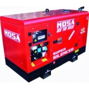 MOSA Ge 10 Ysx 9,5kva 400v/ 4,5kva 230v Yanmar elverk diesel