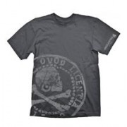 Tricou Uncharted 4 Pirate Coin Oversize (gri)