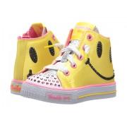 SKECHERS Shuffles 10855N Lights (Toddler) YellowHot Pink