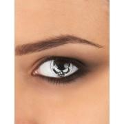 Vegaoo Totenkopf Kontaktlinsen