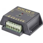 Regulator de încărcare solară Conrad 12/24 V/4 A, protecţie la descărcare profundă