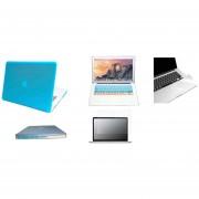 Case Carcasa + Protector De Teclado / Puertos / Pantalla / Trackpad Para Macbook Pro 15'' Model (A1286) -Azul Naranja