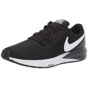 Nike Air Zoom Structure 22-AA1640-002 Tenis para Correr para Mujer, Color Black/White-Gridiron, 8