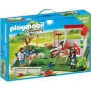 SUPER SET - GRAJD CU CAI Playmobil