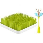 Boon Grass And Stem Green + Blue/Orange