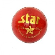 Cricket Leather Ball CW Star (In Pack OF Six Balls)