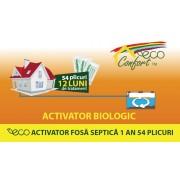 Bioactivator intretinere fosa 1an - 54plicuri de 25gr EPUR