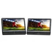 """Denver MTW-1085 Twin Portable DVD player Da tavolo Nero 25,6 cm (10.1"""")"""