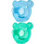 Philips Chupetes Silicona Philips Avent 2 Uds 0-3m+