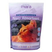 Maracat - nisip silicat lavanda 3.8 L - asternut igienic pentru pisici