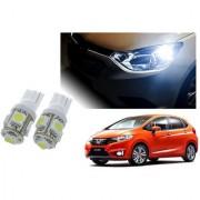 Auto Addict Car T10 5 SMD Headlight LED Bulb for Headlights Parking Light Number Plate Light Indicator Light For Honda New Jazz
