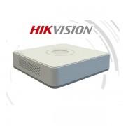 Hikvision DVR rögzítő - DS-7108HQHI-K1 (8 port, 3MP, 2MP/200fps, H265+, 1x Sata, Audio, 2x IP kamera)