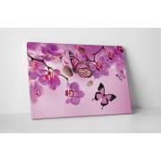 Rózsaszín pillangók - 35x45 cm - AKCIÓ!