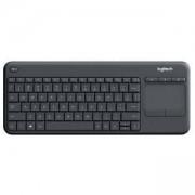 Клавиатура Logitech K400 Professional Wireless Touch Keyboard - GRAPHITE, 920-008377